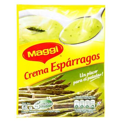 Imagen de CREMA DE ESPARRAGOS  MAGGI 68 g