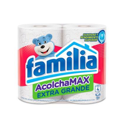 Imagen de PAPEL HIGIENICO FAMILIA ACOLCHAMAX GRANDE X 4 UNID