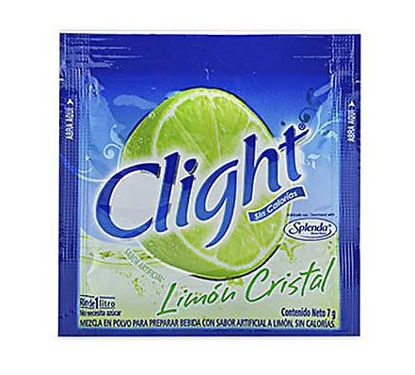 Imagen de CLIGHT SPLENDA LIMON CRISTAL 7 GR.