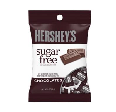 Imagen de HERSHEYS SUGAR FREE CHOCOLATES 85 GR