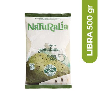 Imagen de PULPA DE FRUTA NATURALIA GUANABANA 500 GR