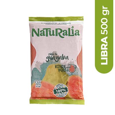 Imagen de PULPA DE FRUTA NATURALIA GUAYABA 500 GR