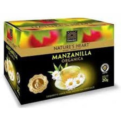 Imagen de NATURES HEART MANZANILLA ORGANIZA 20 GR
