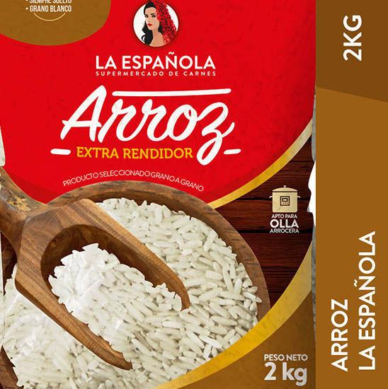 Imagen de ARROZ EMPACADO LA ESPAÑOLA 2 KG
