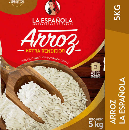 Imagen de ARROZ EMPAC. LA ESPAÑOLA 5 KG
