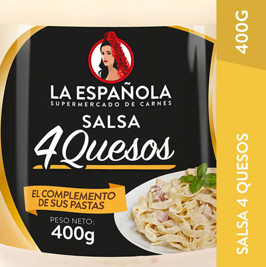 Imagen de SALSA 4 QUESOS LA ESPAÑOLA