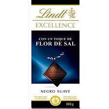 Imagen de EXCELLENCE CHOCOLATE NEGRO CON FLOR DE SAL 100G
