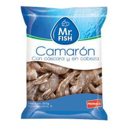 Imagen de CAMARON MR FISH C/CASCARA Y S/ CABEZA 454 GR