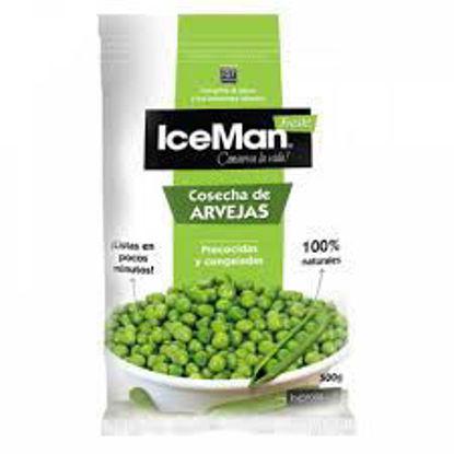 Imagen de ICEMAN ARVEJA PRECOCIDA 500 GR