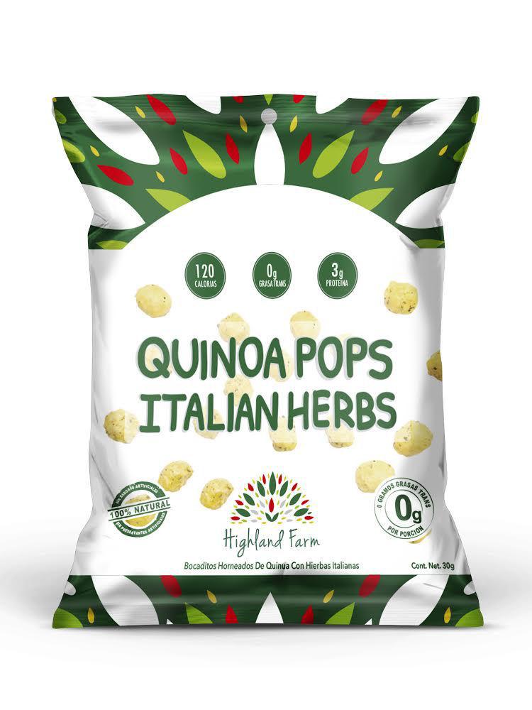 Imagen de QUINOA POPS ITALIAN HERBS 30 G