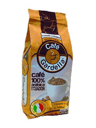 Imagen de CAFE TOSTADO EN GRANO GARDELLA 453 GR