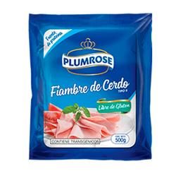 Imagen de PLUMROSE FIAMBRE DE CERDO 500 GR