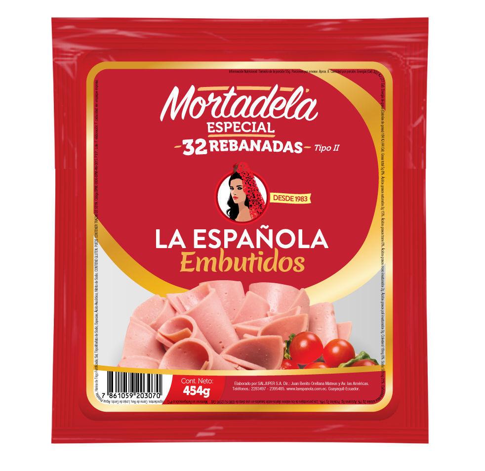 Imagen de MORTADELA EXTRA ESPECIAL 454 GR